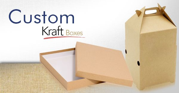 Reasons Why Kraft Boxes are a Popular Form of Custom Packaging
